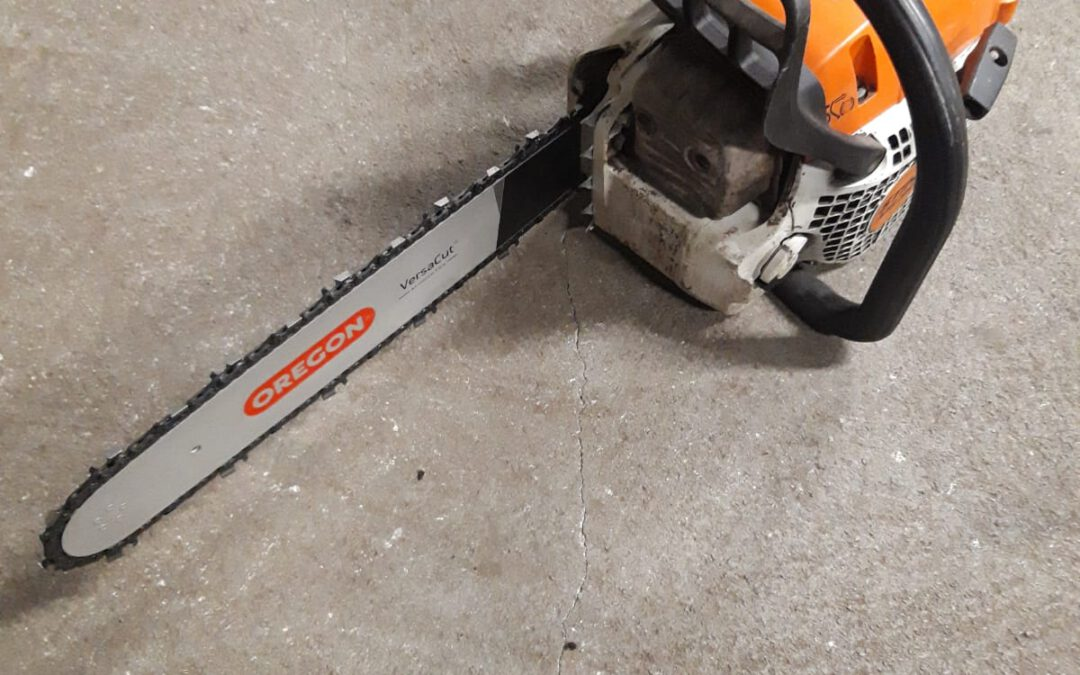 Stihl MS 391 Kettingzaag.