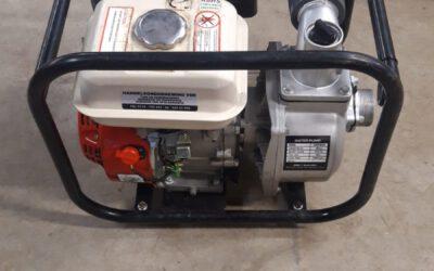 Waterpomp met 5.5 pk motor