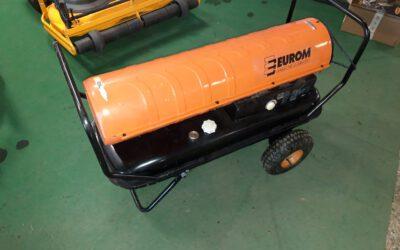 Hetelucht kanon 63 kw diesel